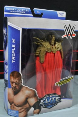 Triple H WWE Mattel Elite 35 - package side