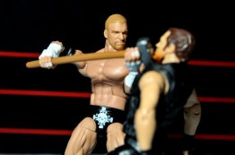 Triple H WWE Mattel Elite 35 - sledgehammer to Ambrose