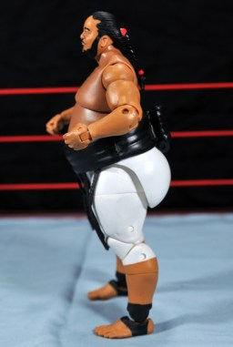 Yokozuna figure review Hall of Fame - left side