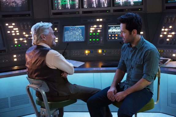 Ant Man - Hank Pym and Scott Lang
