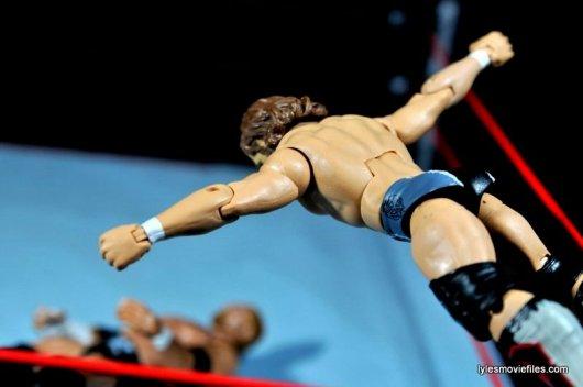 Daniel Bryan Mattel figure review - diving headbutt