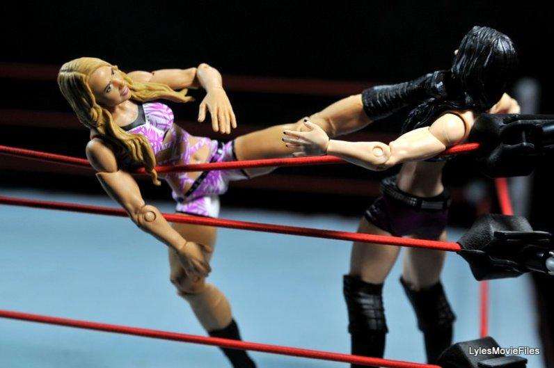 Emma WWE Mattel Basic 30 -kicking Paige