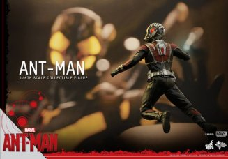 Hot Toys Ant-Man figure -about to fight Yellowjacket