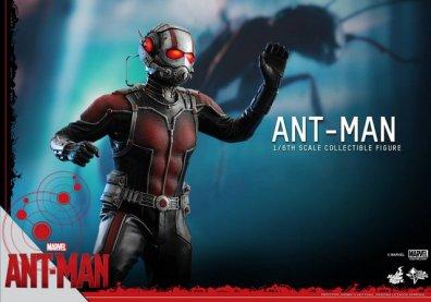 Hot Toys Ant-Man figure -waving