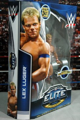 Lex Luger WWE Mattel Elite 30 figure - side package