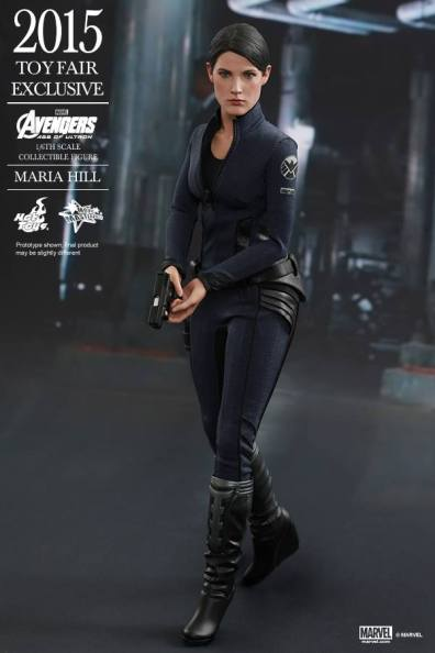 Maria Hill Avengers Age of Ultron Hot Toys figure -ready for action