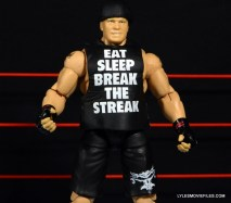 Mattel Brock Lesnar WWE figure - close up shirt detail