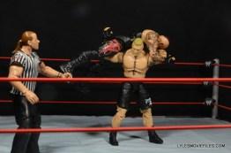 Mattel Brock Lesnar WWE figure - F5 Undertaker