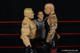 Mattel Brock Lesnar WWE figure - face off with Undertaker