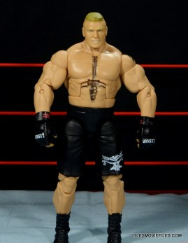 Mattel Brock Lesnar WWE figure - front detail wide