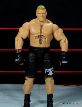 Mattel Brock Lesnar WWE figure - front detail wide