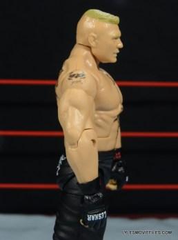 Mattel Brock Lesnar WWE figure - right side detail