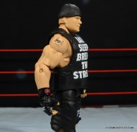 Mattel Brock Lesnar WWE figure - right side shirt