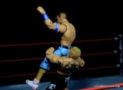 Mattel Brock Lesnar WWE figure - suplex 3 Cena