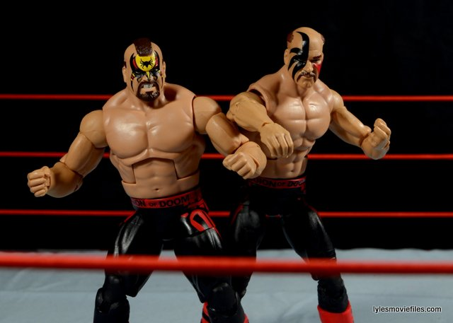 Mattel WWE Elite 30 Legion of Doom - Animal and Hawk