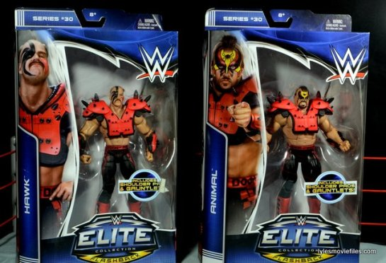 Mattel WWE Elite 30 Legion of Doom - front package