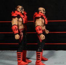 Mattel WWE Elite 30 Legion of Doom - left side detail
