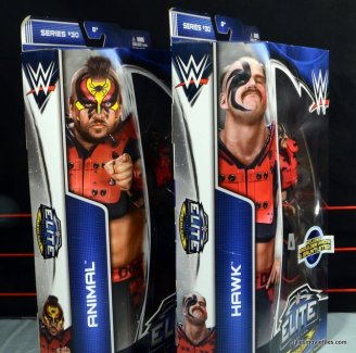 Mattel WWE Elite 30 Legion of Doom - side of package