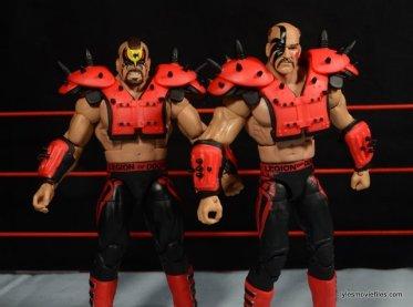 Mattel WWE Elite 30 Legion of Doom - with red pads