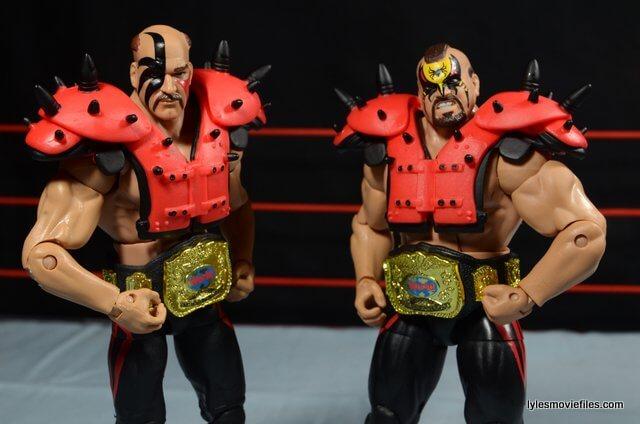 Mattel WWE Elite 30 Legion of Doom - with tag titles
