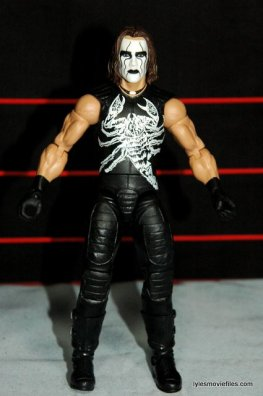 Sting figure WWE Mattel Defining Moments - front detail