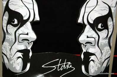 Sting figure WWE Mattel Defining Moments - package insert