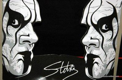 Sting figure WWE Mattel Defining Moments - package insert