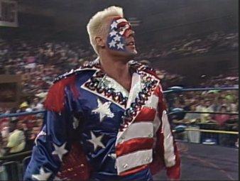 Sting Great American Bash 1990 attire
