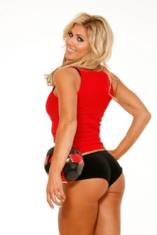 Torrie Wilson volleyball
