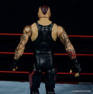 Wrestlemania 30 Undertaker Mattel -back detail