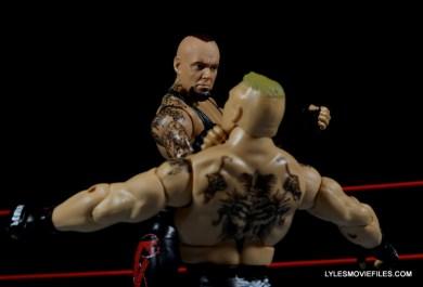 Wrestlemania 30 Undertaker Mattel - grabbing Brock