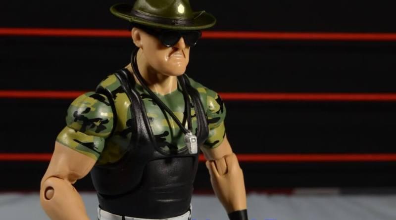 Sgt. Slaughter WWE Hall of Fame figure - main pic