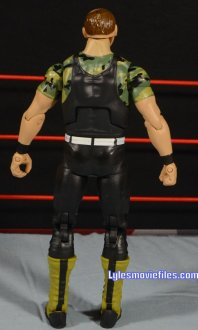 Sgt. Slaughter WWE Hall of Fame figure - rear detail