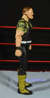 Sgt. Slaughter WWE Hall of Fame figure - right side detail