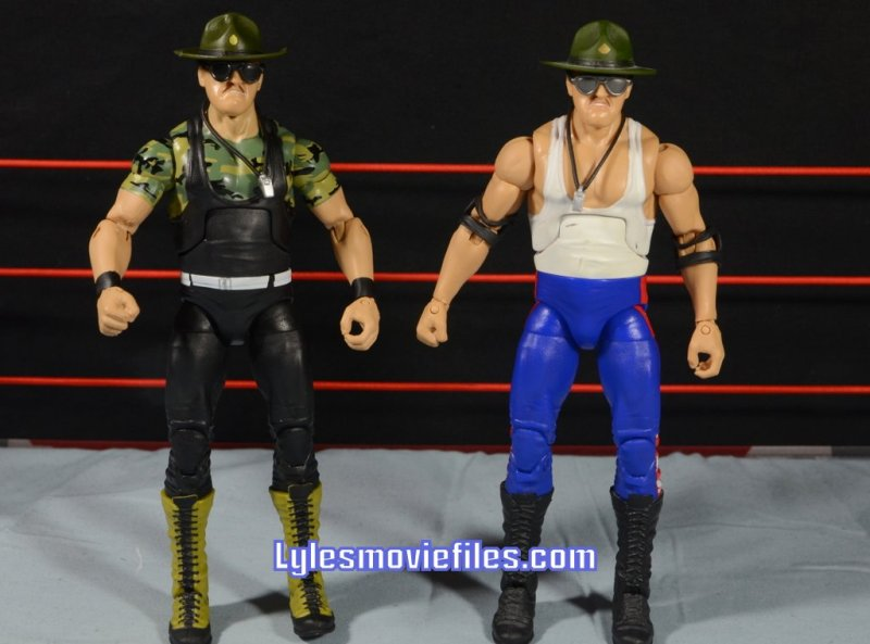 Sgt. Slaughter WWE Hall of Fame figure - with Legends Sgt Slaughter