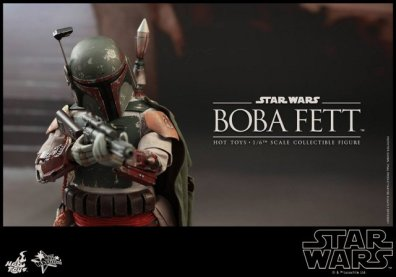 Boba Fett Hot Toys figure -aiming at the palace