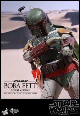 Boba Fett Hot Toys figure -close up aiming