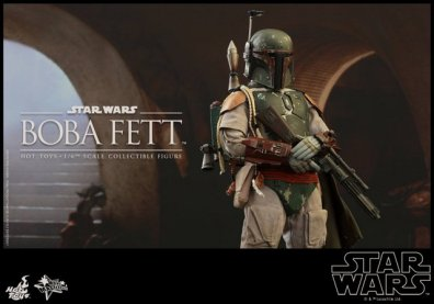 Boba Fett Hot Toys figure -in Jabba's palacs