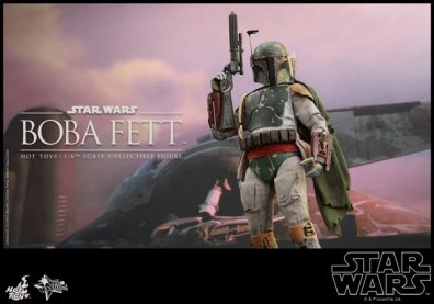 Boba Fett Hot Toys figure - main pic