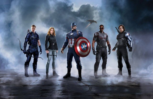 Captain America Civil War promo Captain America team