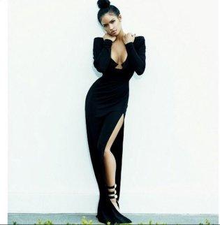 Cassie black dress