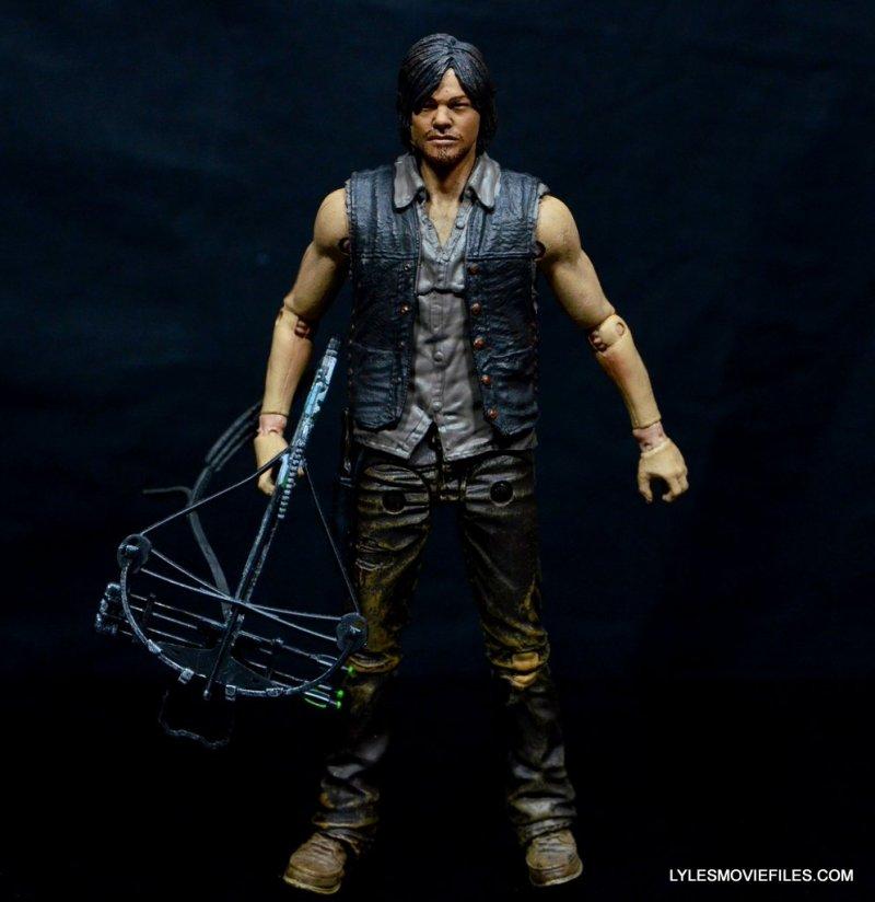 Daryl Dixon Walking Dead deluxe figure -front detail