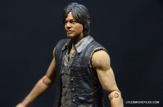 Daryl Dixon Walking Dead deluxe figure -left side profile