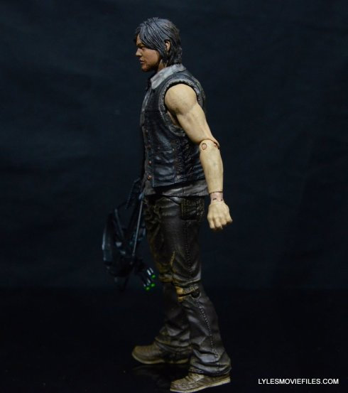 Daryl Dixon Walking Dead deluxe figure -left side