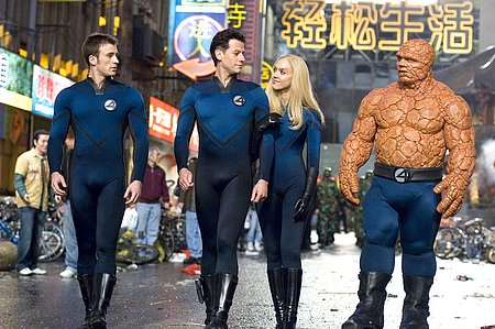 Fantastic 4 Rise of the Silver Surfer - cast