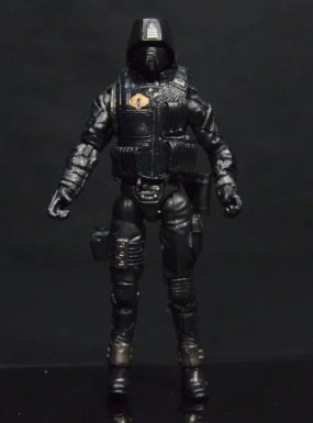 GI Joe Gung-Ho vs Cobra Shadow Guard - CSG front detail wide