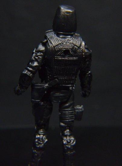 GI Joe Gung-Ho vs Cobra Shadow Guard -CSG rear detail