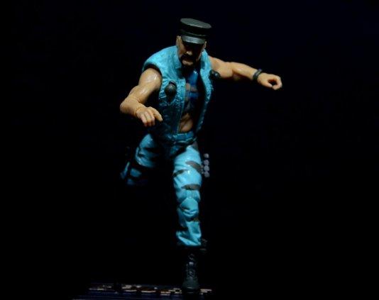 GI Joe Gung-Ho vs Cobra Shadow Guard -Gung-Ho on the run