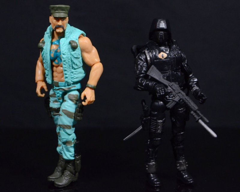 GI Joe Gung-Ho vs Cobra Shadow Guard -Gung Ho vs Cobra Shadow Guard