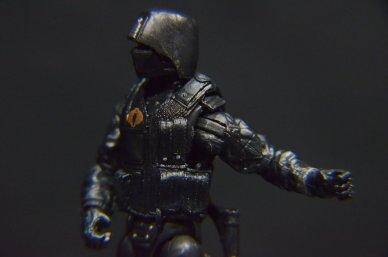 GI Joe Gung-Ho vs Cobra Shadow Guard -left detail